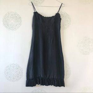 Delicate Black Silk Dress by Guess
